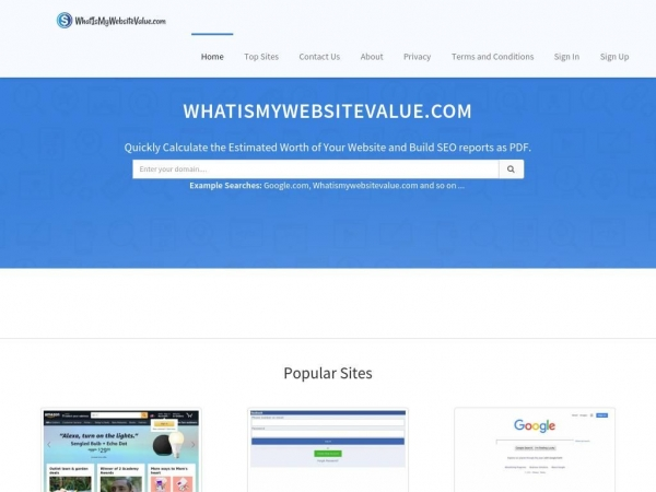 whatismywebsitevalue.com